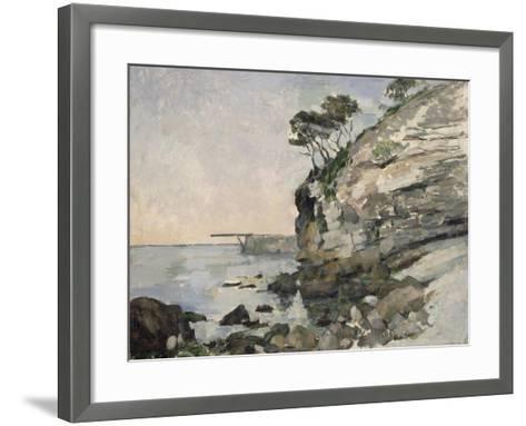 L'Estaque, effet du soir-Paul C?zanne-Framed Art Print