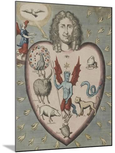 L'estat d'un homme dans le péché...--Mounted Giclee Print