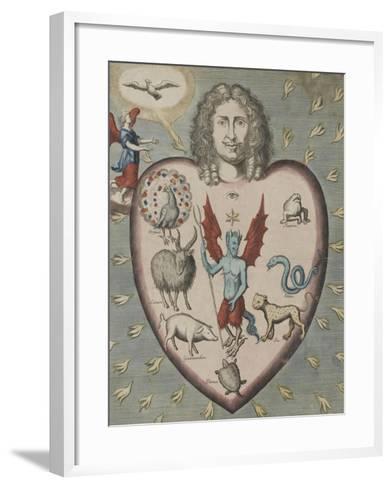 L'estat d'un homme dans le péché...--Framed Art Print
