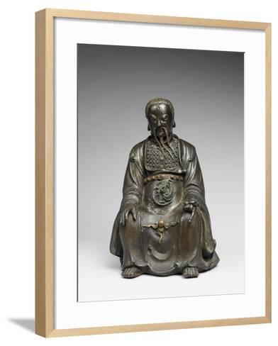 Le dieu du Nord, Zhenwu--Framed Art Print