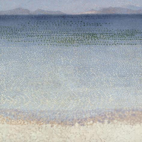 Les ?les d'Or, ?les d'Hy?res (Var)-Henri Edmond Cross-Stretched Canvas Print