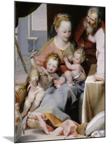 La Sainte Famille au chat-Federico Barocci-Mounted Giclee Print
