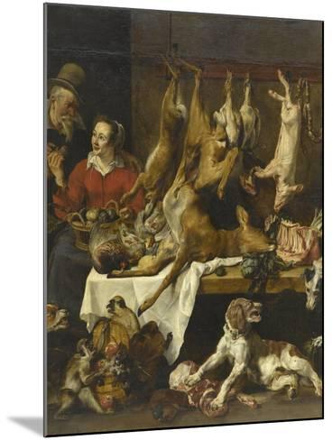 La marchande de gibier-Frans Snyders-Mounted Giclee Print