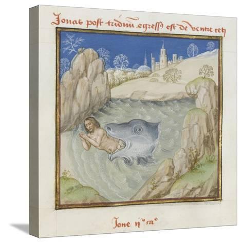 Le Miroir de l'humaine salvation--Stretched Canvas Print