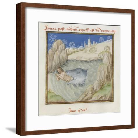 Le Miroir de l'humaine salvation--Framed Art Print