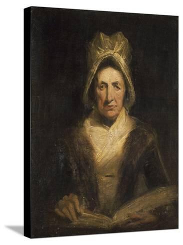 La vieille gouvernante-Richard Parkes Bonington-Stretched Canvas Print