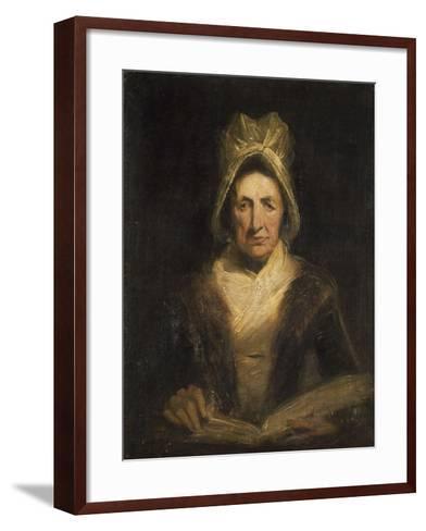 La vieille gouvernante-Richard Parkes Bonington-Framed Art Print