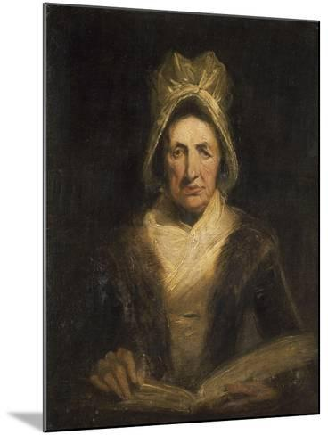 La vieille gouvernante-Richard Parkes Bonington-Mounted Giclee Print