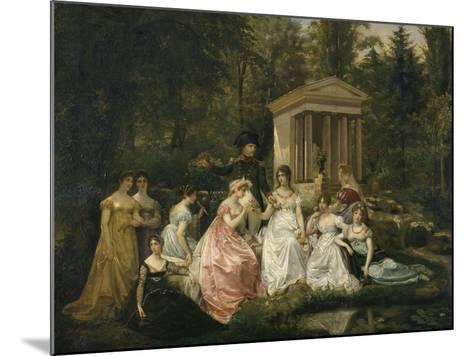 La Rose de Malmaison-du Vigneau Victor Viger-Mounted Giclee Print
