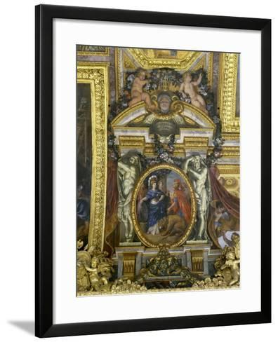 The Preeminence of France Recognized by Spain, 1662-Charles Le Brun-Framed Art Print