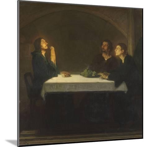 Les pèlerins d'Emmaüs-Henry Ossawa Tanner-Mounted Giclee Print