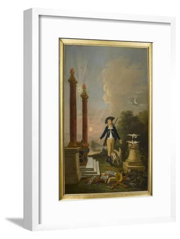 Les plaisirs du franc-maçon--Framed Art Print