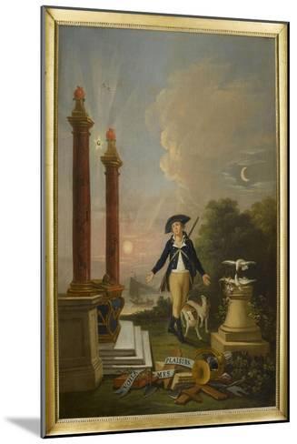 Les plaisirs du franc-maçon--Mounted Giclee Print