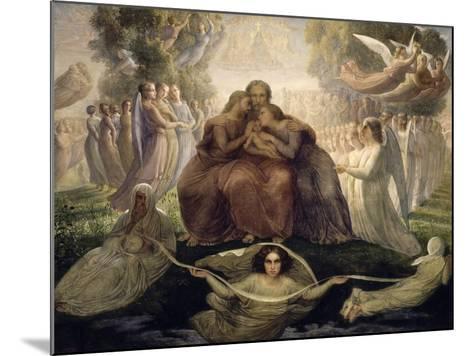 Le Poème de l'âme. Génération divine-Louis Janmot-Mounted Giclee Print