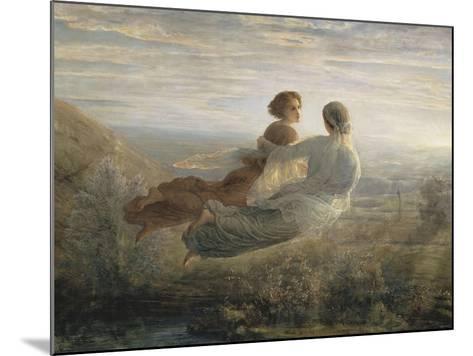 Le Poème de l'âme. Le vol de l'Âme-Louis Janmot-Mounted Giclee Print