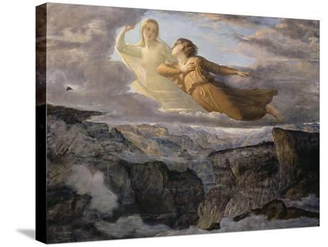 Le Poème de l'âme. L'Idéal-Louis Janmot-Stretched Canvas Print
