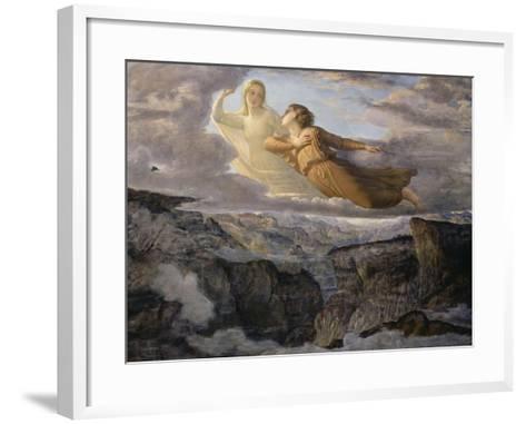 Le Poème de l'âme. L'Idéal-Louis Janmot-Framed Art Print