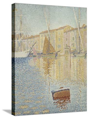 La Bouée rouge, Saint-Tropez-Paul Signac-Stretched Canvas Print