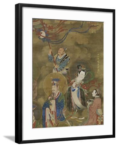 Les Régents des Onze luminaires--Framed Art Print