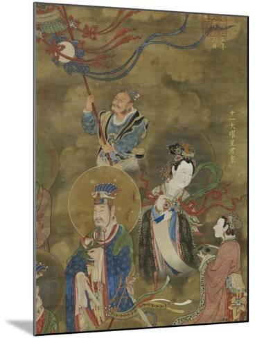 Les Régents des Onze luminaires--Mounted Giclee Print