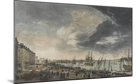 Le port de Bordeaux-Claude Joseph Vernet-Mounted Giclee Print