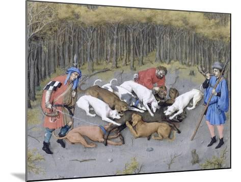 Les Très Riches Heures du duc de Berry--Mounted Giclee Print