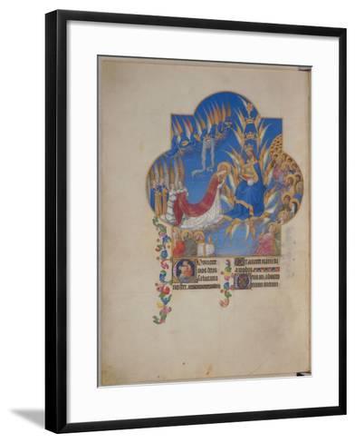 Les Très Riches Heures du duc de Berry--Framed Art Print