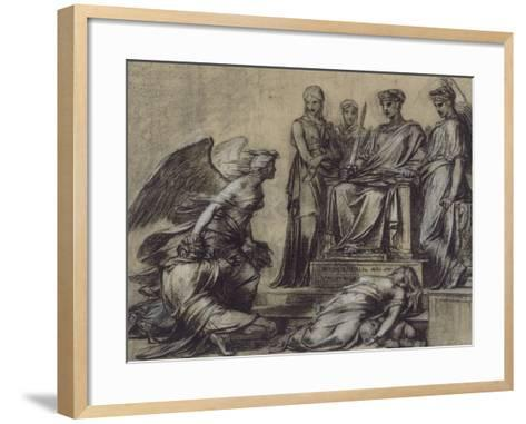 Thémis et Némésis-Pierre Paul Prud'hon-Framed Art Print