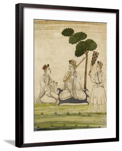 Trois religieuse krisnaïtes--Framed Art Print