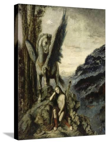 Le Poète voyageur-Gustave Moreau-Stretched Canvas Print