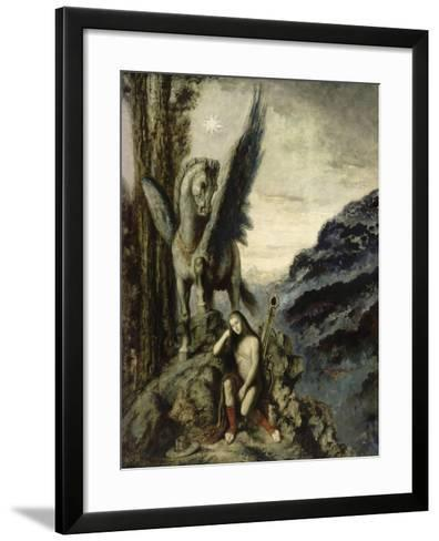 Le Poète voyageur-Gustave Moreau-Framed Art Print
