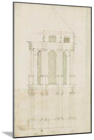 Projet de transformation du choeur de la cathédrale de Bamberg-Herman Vischer-Mounted Giclee Print