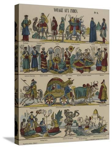 Voyage aux Indes--Stretched Canvas Print
