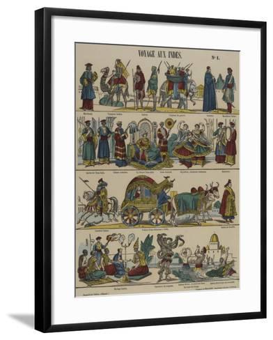 Voyage aux Indes--Framed Art Print