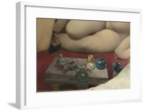 Le Bain turc-Jean-Auguste-Dominique Ingres-Framed Art Print