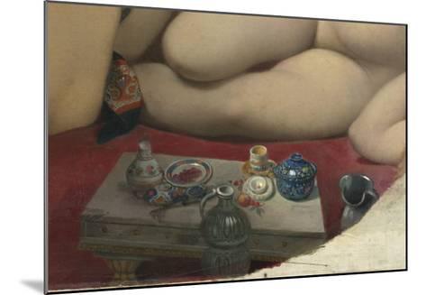 Le Bain turc-Jean-Auguste-Dominique Ingres-Mounted Giclee Print