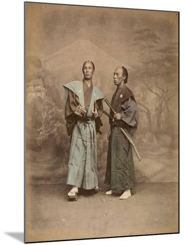 Deux samouraï--Mounted Giclee Print