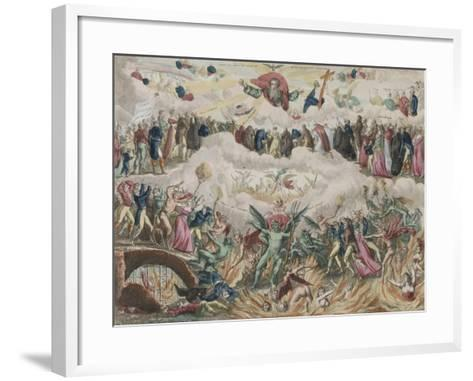 Jugement universel--Framed Art Print