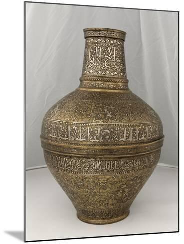 """Vase au nom du Sultan al-Malik al-Nasir Salah al-Din Yusuf dit """" vase Barberini """"--Mounted Giclee Print"""