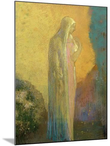 Femme voilée debout-Odilon Redon-Mounted Giclee Print
