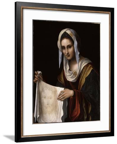 Sainte Véronique-Lorenzo Costa-Framed Art Print
