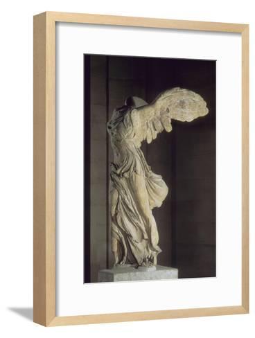 Victoire de Samothrace--Framed Art Print