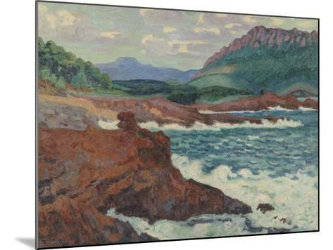 Vue d'Agay (Var)-Armand Guillaumin-Mounted Giclee Print