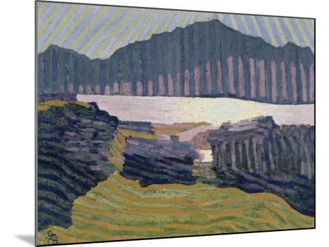 View Capolago, Blick Auf Den Über Capolago Silsersee-Giovanni Giacometti-Mounted Giclee Print