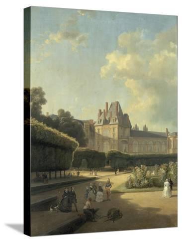 Vue du pavillon de la Porte Dorée-Jean Charles Joseph Remond-Stretched Canvas Print