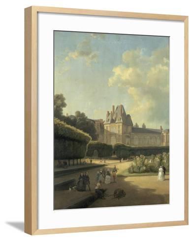 Vue du pavillon de la Porte Dorée-Jean Charles Joseph Remond-Framed Art Print
