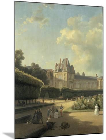 Vue du pavillon de la Porte Dorée-Jean Charles Joseph Remond-Mounted Giclee Print