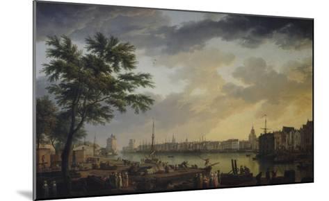 Vue du port de la Rochelle-Claude Joseph Vernet-Mounted Giclee Print