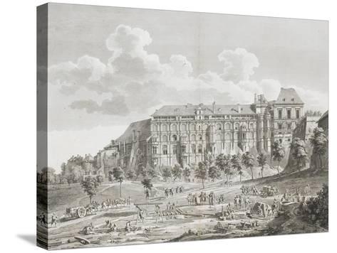 Vue du château de Blois--Stretched Canvas Print