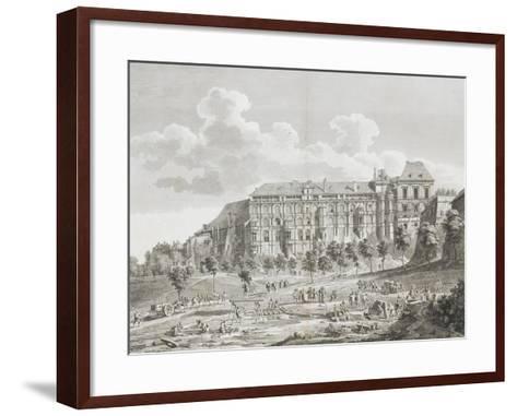 Vue du château de Blois--Framed Art Print